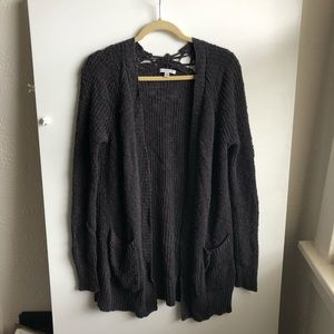 American Eagle Gray Cardigan / Small
